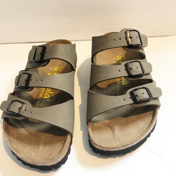 ba56f6e22aba Birkenstock Shoes - Betula by Birkenstock Leo 3 Strap Sandal Size 36